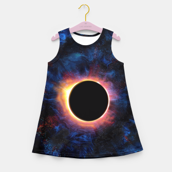 Miniature de image de Solar Eclipse Girl's Summer Dress, Live Heroes