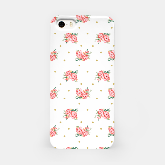 Miniature de image de pink flowers iPhone Case, Live Heroes