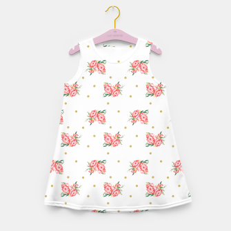 Miniature de image de pink flowers Girl's Summer Dress, Live Heroes