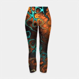 Miniature de image de Awesome Fractal 35 Yoga Pants, Live Heroes