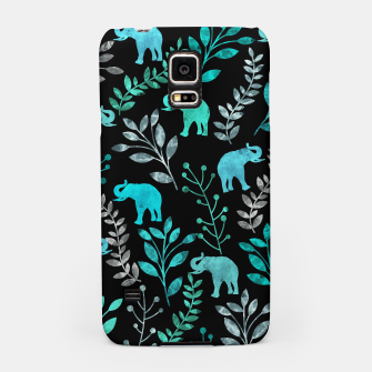 Miniature de image de Watercolor Flowers & Elephants III Samsung Case, Live Heroes