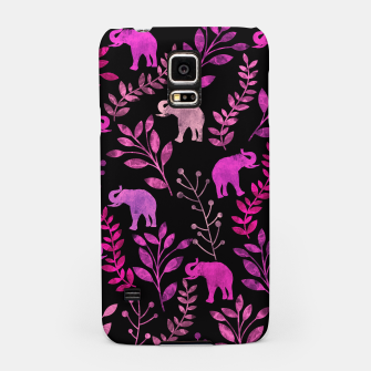 Miniature de image de Watercolor Flowers & Elephants IV Samsung Case, Live Heroes