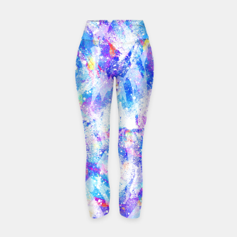 Miniature de image de Abstract Blues Yoga Pants, Live Heroes
