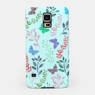 Miniature de image de Watercolor Flowers & Butterfly  II Samsung Case, Live Heroes