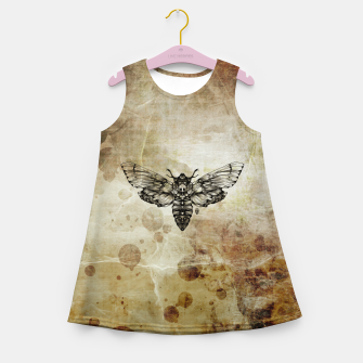 Miniature de image de Moth Girl's Summer Dress, Live Heroes