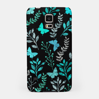 Miniature de image de Watercolor Flowers & Butterfly V Samsung Case, Live Heroes