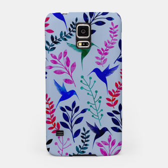 Miniature de image de Watercolor Flowers & Birds II Samsung Case, Live Heroes