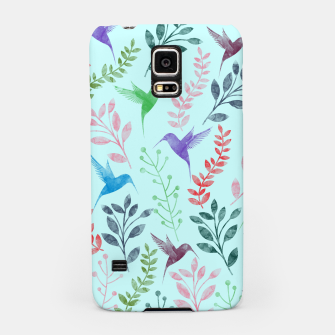 Miniature de image de Watercolor Flowers & Birds III Samsung Case, Live Heroes