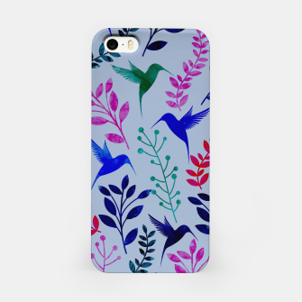 Miniature de image de Watercolor Flowers & Birds II iPhone Case, Live Heroes
