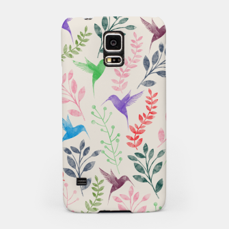 Miniature de image de Watercolor Flowers & Birds  Samsung Case, Live Heroes