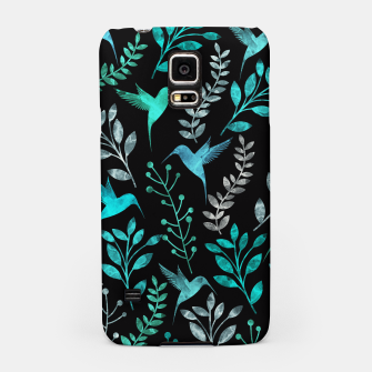 Miniature de image de Watercolor Flowers & Birds IV Samsung Case, Live Heroes