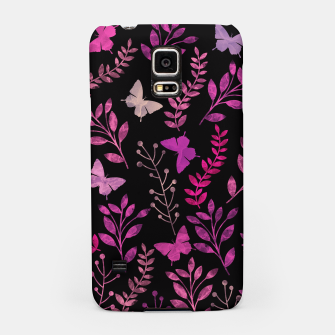 Miniature de image de Watercolor Flowers & Butterfly IV Samsung Case, Live Heroes