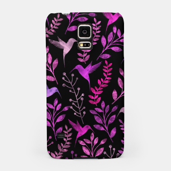 Miniature de image de Watercolor Flowers & Birds V Samsung Case, Live Heroes