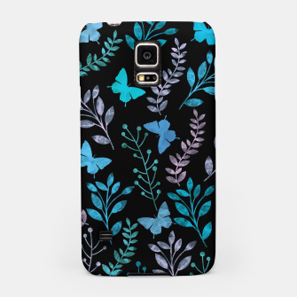 Miniature de image de Watercolor Flowers & Butterfly III Samsung Case, Live Heroes