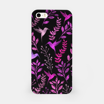 Miniature de image de Watercolor Flowers & Birds V iPhone Case, Live Heroes