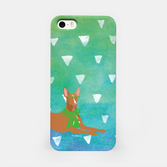 Miniature de image de Pharaoh Hound Watercolour iPhone Case, Live Heroes