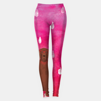 Imagen en miniatura de Irish Setter Watercolour Leggings, Live Heroes