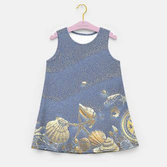 Miniature de image de Sea Treasures Girl's Summer Dress, Live Heroes