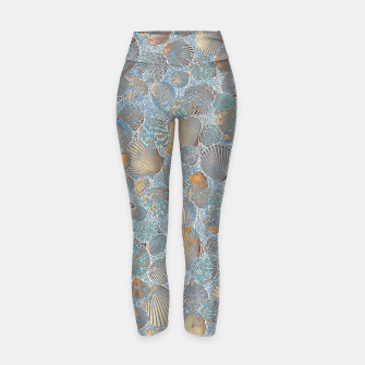 Miniature de image de Sea Shells Yoga Pants, Live Heroes