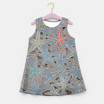 Miniature de image de Sea stars Girl's Summer Dress, Live Heroes
