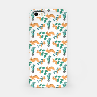 Miniature de image de tropical cat iPhone Case, Live Heroes