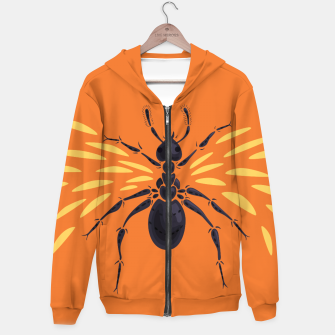 Thumbnail image of Abstract Winged Ant Hoodie, Live Heroes
