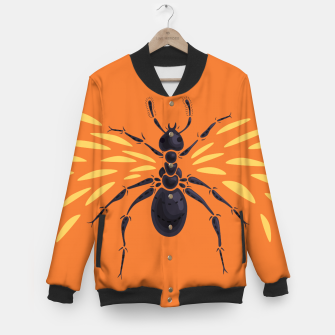 Thumbnail image of Abstract Winged Ant Baseball Jacket, Live Heroes