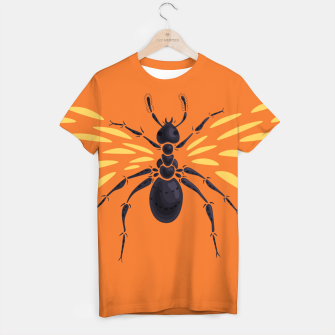 Thumbnail image of Abstract Winged Ant T-shirt, Live Heroes