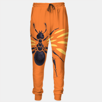 Thumbnail image of Abstract Winged Ant Sweatpants, Live Heroes