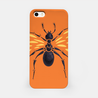 Miniature de image de Abstract Winged Ant iPhone Case, Live Heroes