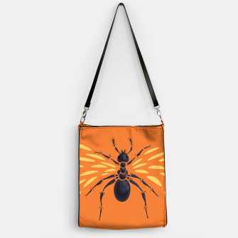 Thumbnail image of Abstract Winged Ant Handbag, Live Heroes