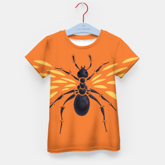 Thumbnail image of Abstract Winged Ant Kid's T-shirt, Live Heroes
