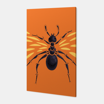 Thumbnail image of Abstract Winged Ant Canvas, Live Heroes