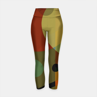 Miniature de image de Technicolor (Base) Leggings de yoga, Live Heroes