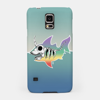 Miniature de image de Unicorn Shark Skeleton Samsung Case, Live Heroes