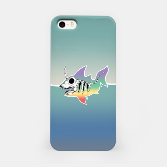 Miniature de image de Unicorn Shark Skeleton iPhone Case, Live Heroes