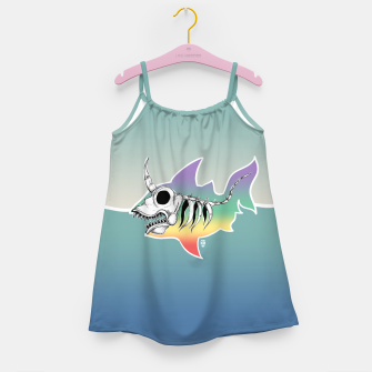 Miniature de image de Unicorn Shark Skeleton Girl's Dress, Live Heroes
