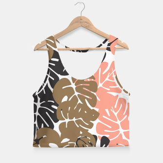 Miniature de image de Tropical pattern 027 Crop Top, Live Heroes