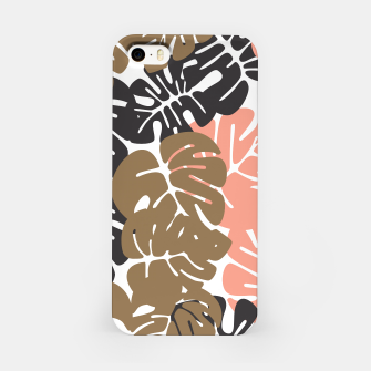 Miniature de image de Tropical pattern 027 iPhone Case, Live Heroes