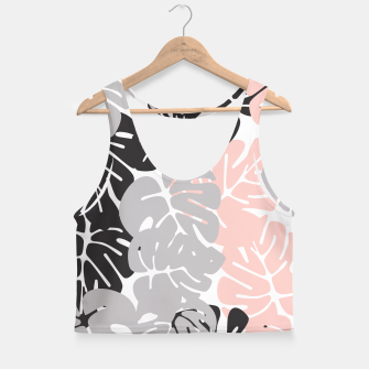 Miniature de image de Tropical pattern 028 Crop Top, Live Heroes