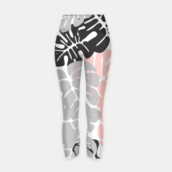 Miniature de image de Tropical pattern 028 Yoga Pants, Live Heroes