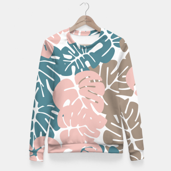 Miniature de image de Tropical pattern 029 Fitted Waist Sweater, Live Heroes