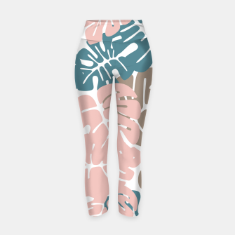 Miniature de image de Tropical pattern 029 Yoga Pants, Live Heroes