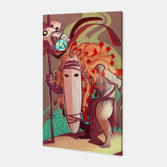 Thumbnail image of Forest Soothsayer Canvas, Live Heroes