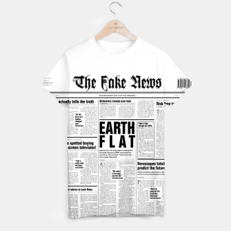 Thumbnail image of The Fake News T-shirt, Live Heroes