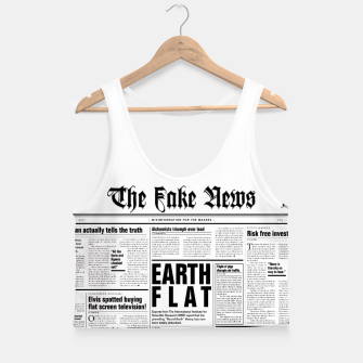 Miniature de image de The Fake News Crop Top, Live Heroes