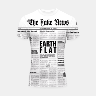 Miniature de image de The Fake News Shortsleeve Rashguard, Live Heroes