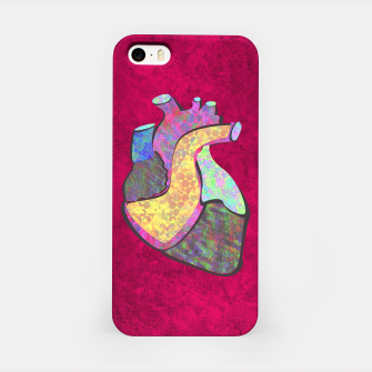 Miniature de image de Holographic human heart iPhone Case, Live Heroes