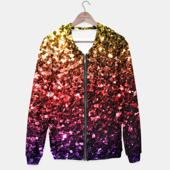 Miniaturka Beautiful Rainbow yellow red purple sparkles Hoodie, Live Heroes