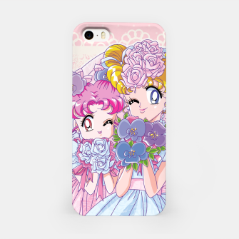 Miniature de image de Sailor Moon Usagi & Chibiusa iPhone Case, Live Heroes